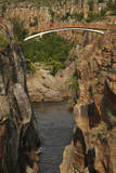 Footbridge over Blyde River, Blyde River Canyon Reserve, South Africa Photographic Print by David Wall