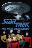 Star Trek Next Gen Cast Plakát