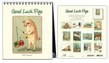 Good Luck Pigs - 2015 Easel Calendar Calendars