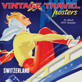 Vintage Travel Posters - 2015 Calendar Calendriers