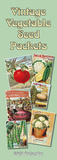 Vintage Vegetable Seed Packs - 2015 Slim Calendar Calendars