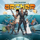 Archer - 2015 Calendar Calendars