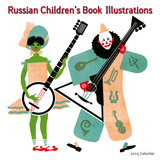 Russian Children's Book Illustrations - 2015 Calendar Calendars