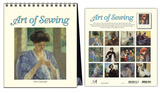 Art of Sewing - 2015 Easel Calendar Calendars