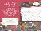 My Life Caprice Family Organizer - 2015 Calendar Calendars
