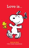Peanuts Love is - 2015 2 Year Planner Calendars