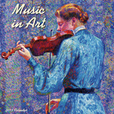 Music in Art - 2015 Calendar Calendars