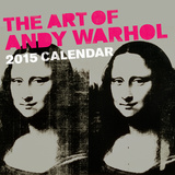 Art of Andy Warhol - 2015 Calendar Calendriers