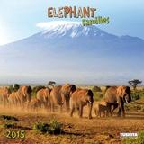 Elephant Families - 2015 Calendar Calendars