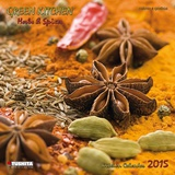 Green Kitchen  Herbs & Spices - 2015 Calendar Calendriers
