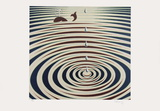 Origines - Etude de mouvement Edição limitada por Victor Vasarely