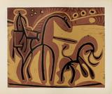LC - Picador et taureau Impressão colecionável por Pablo Picasso