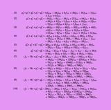 Planche mathématique 10 Edição limitada por Bernar Venet