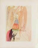 Divine Comedie, Paradis 23: Le triomphe du Christ Collectable Print by Salvador Dalí