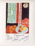 Af 1948 - Nice Travail Et Joie Reproductions pour les collectionneurs par Henri Matisse