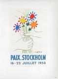 AF 1958 - Paix Stockholm Sammlerdrucke von Pablo Picasso
