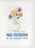 AF 1958 - Paix Stockholm Collectable Print by Pablo Picasso