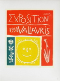 AF 1958 - Exposition Vallauris Collectable Print by Pablo Picasso