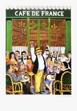 Café De France Collectable Print by Guy Buffet