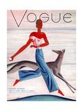 Vogue Cover - July 1930 Collectable Print by Eduardo Garcia Benito