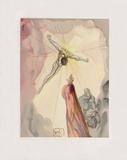 Divine Comedie, Paradis 14: L'apparition du Christ Keräilyvedos tekijänä Salvador Dalí