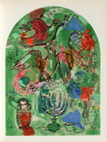 Jerusalem Windows : Asher Samletrykk av Marc Chagall