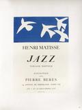Af 1947 - Jazz Chez Pierre Berès Reproduction pour collectionneurs par Henri Matisse