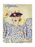 Vogue Cover - March 1935 Collectable Print by Eduardo Garcia Benito