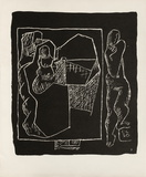 Entre-Deux No. 7 Collectable Print by  Le Corbusier