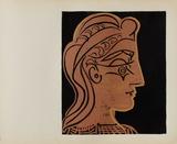 LC - Tête de femme de profil Collectable Print by Pablo Picasso
