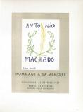 AF 1959 - Antonio Machado Samlertryk af Pablo Picasso