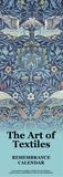 Art of Textiles - Remembrance Calendar (Undated) Calendars