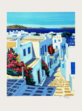 Mykonos : plein soleil Collectable Print by Jean Claude Quilici