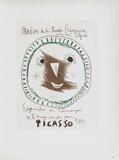 AF 1958 - Picasso céramiques Samlertryk af Pablo Picasso