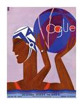 Vogue Cover - June 1927 Collectable Print by Eduardo Garcia Benito