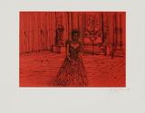 La Reine Begränsad utgåva av Jean Carzou