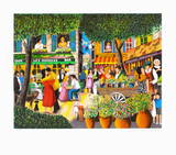 Printemps a Saint Tropez Limited Edition by Guy Buffet