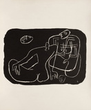 Entre-Deux No. 4 Collectable Print by  Le Corbusier