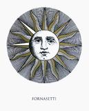 La Luna Serigraph by Piero Fornasetti