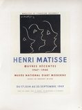 AF 1949 - Musee National D'Art Moderne Collectable Print by Henri Matisse