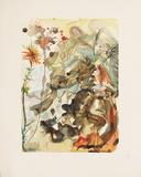 Divine Comedie, Paradis 25: St Jacques Et L'Espérance Kerättävät vedokset tekijänä Salvador Dalí