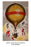 Hot Air Balloons - 2015 Calendar Calendars