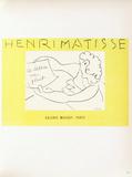 Af 1945 - Galerie Maeght Reproductions pour les collectionneurs par Henri Matisse