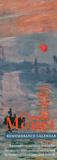 Claude Monet - Remembrance Calendar (Undated) Calendars