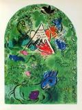 Jerusalem Windows : Issachar Lámina coleccionable por Marc Chagall