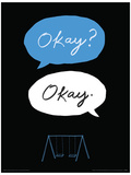 The Fault In Our Stars - Okay Okay Masterprint