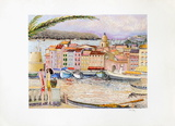 Le Port De Saint-Tropez Limited Edition by Ramon Dilley