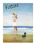 Vogue Cover - July 1937 Collectable Print by Eduardo Garcia Benito