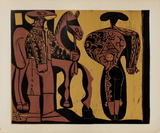 LC - Picador et torero Impressão colecionável por Pablo Picasso