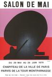 Expo Salon de Mai Sammlerdrucke von Ladislas Kijno